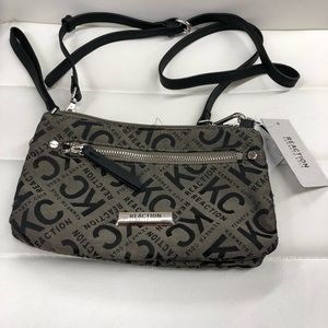 Kenneth Cole Two Tone Gray/Black Hand Bag